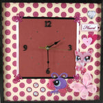 Load image into Gallery viewer, Girls-Bedroom-Wall-Clock-Nchanted-Gifts