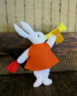 Load image into Gallery viewer, Alice-in-Wonderland-Stuffed-Toy-Rabbit-Nchanted-Gifts