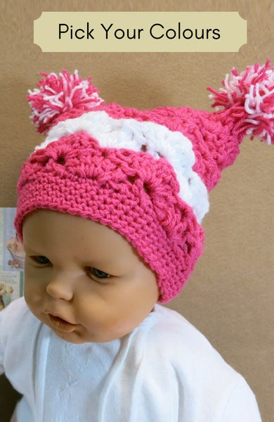 2-Colour-Pom-Pom-Beanie-Nchanted-Gifts