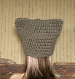 Load image into Gallery viewer, Crochet-Pussy-Cat-Hat-Nchanted-Gifts