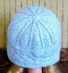 Winter-Beanie-With-Textured-Pattern-Nchanted-Gifts