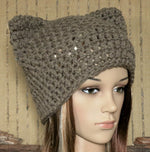 Load image into Gallery viewer, Hat-Pussy-Cat-Beanie-Adults-Nchanted-Gifts