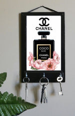 Load image into Gallery viewer, Coco Chanel Perfume Bottle Print Organizer