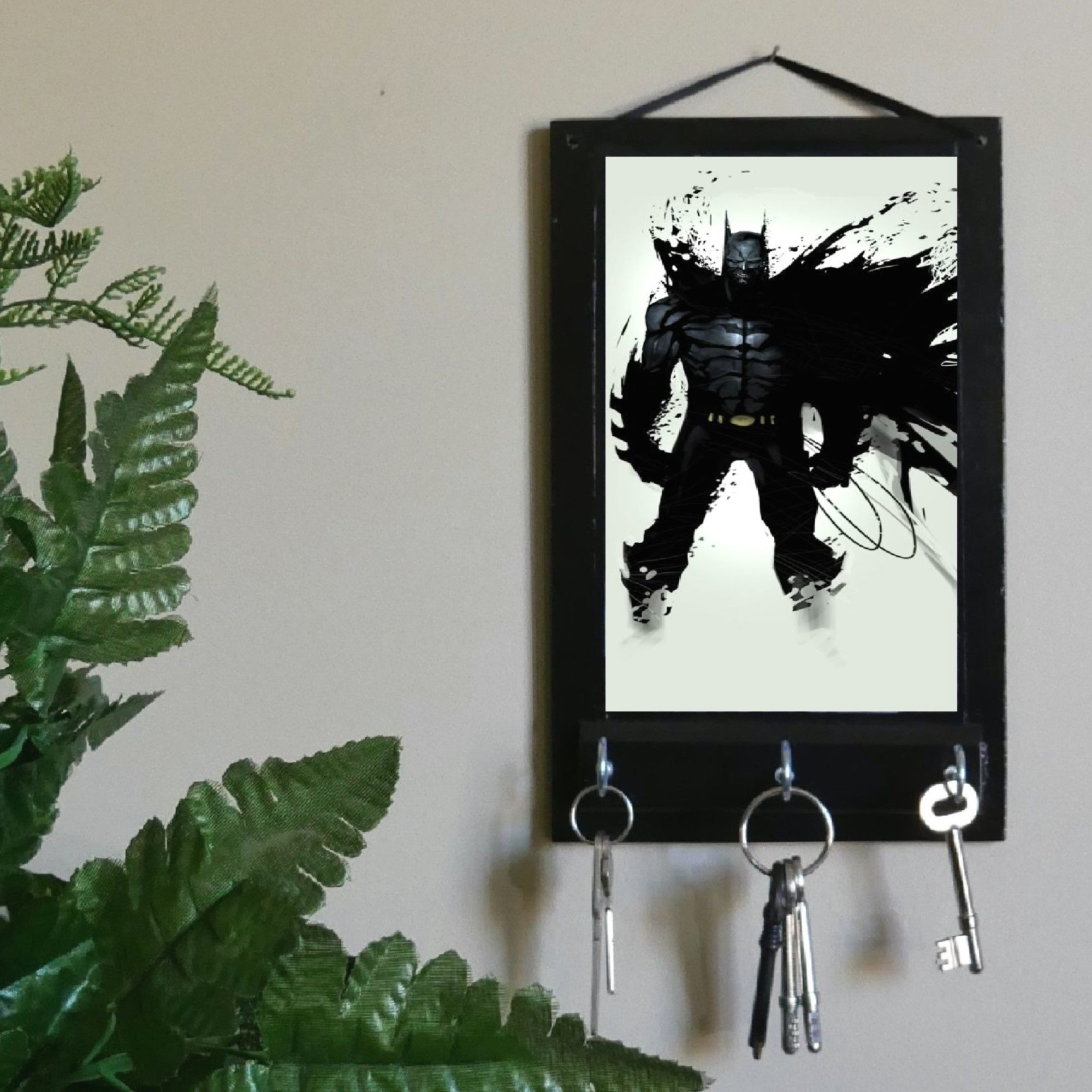 Comic-Batman-Key-Rack-Holder-Nchanted-Gifts