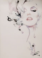 Load image into Gallery viewer, Marilyn-Monroe-Key-Holder-Nchanted-Gifts