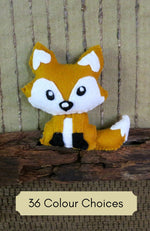 Load image into Gallery viewer, Mini-Soft-Toy-Felt-Fox-Nchanted-Gifts