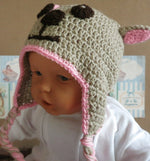 Load image into Gallery viewer, Crochet-Puppy-Dog-Beanie-Nchanted-Gifts