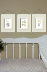 Load image into Gallery viewer, Elephant-Nursery-Wall-Prints-Nchanted-Gifts