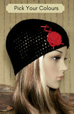 Load image into Gallery viewer, Women's-Corset-Beanie-Nchanted-Gifts