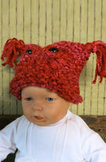 Load image into Gallery viewer, Chunky-Knitted-Owl-Beanie-Nchanted-Gifts
