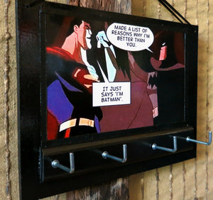 Key-Rack-Holder-Superman-Batman-Print-Nchanted-Gifts
