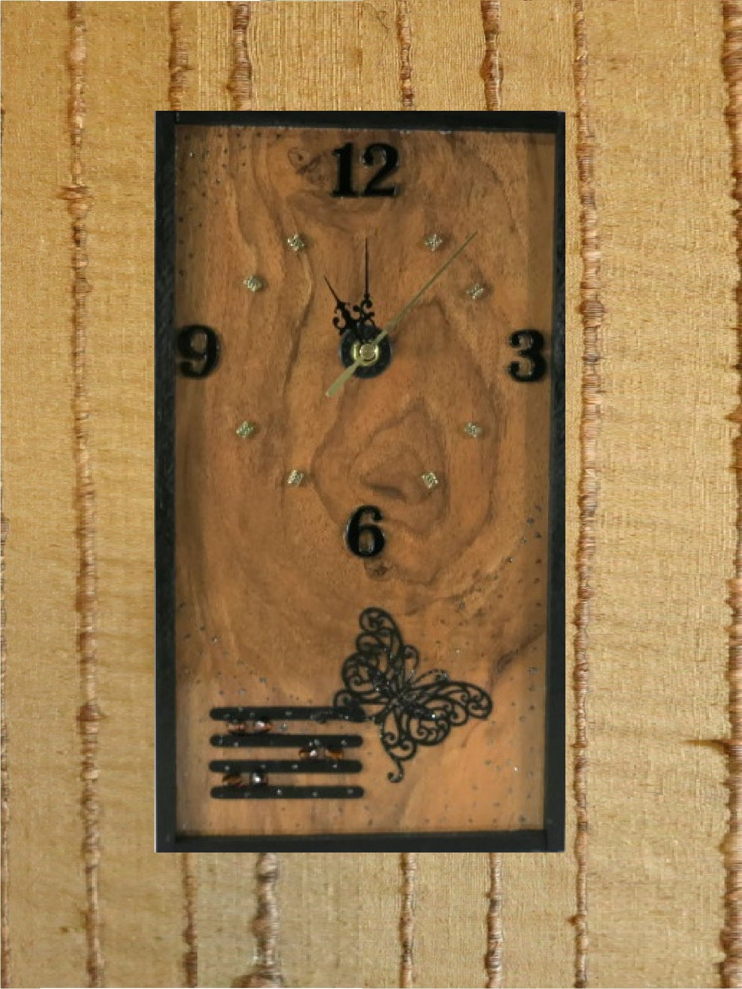 Wood-Vinyl-Wall-Clock-Nchanted-Gifts