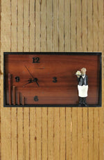 Load image into Gallery viewer, Kitchen-Wall-Clock-With-Butler-Nchanted-Gifts