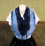 Load image into Gallery viewer, Crochet-Infinity-Wool-Cowl-Nchanted-Gifts