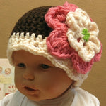 Load image into Gallery viewer, Baby-Flower-Beanie-Nchanted-Gifts