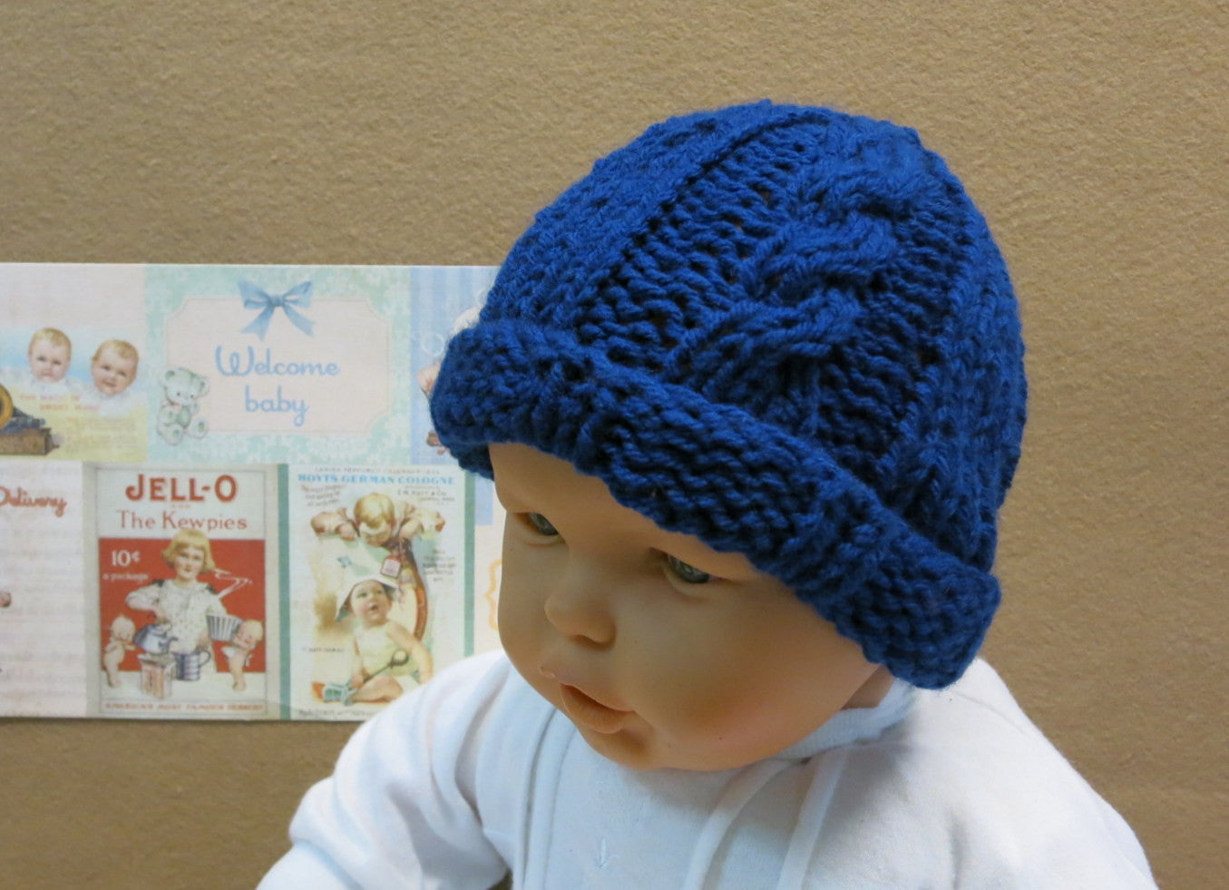 Cable-Baby-Winter-Beanie-Nchanted-Gifts
