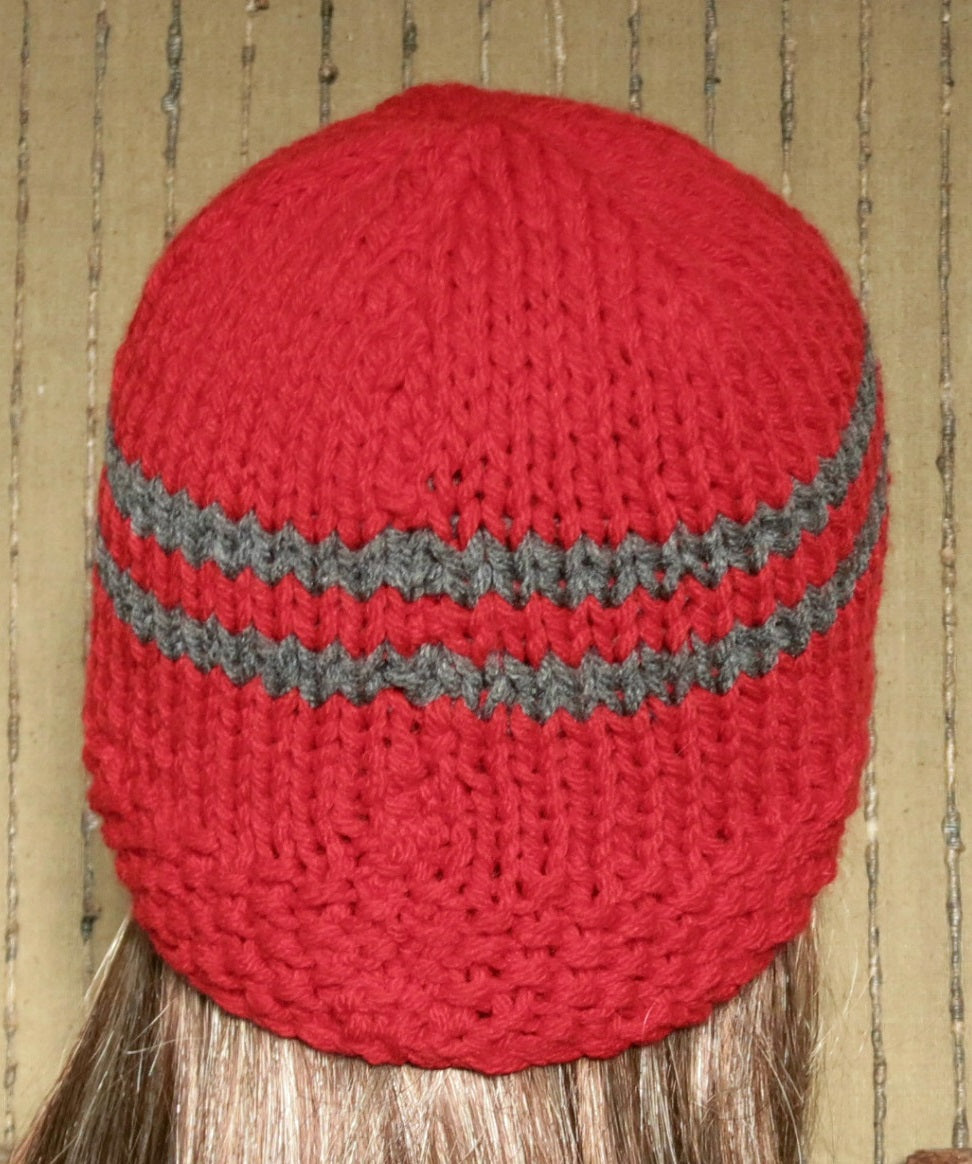 Striped-Knitted-Beanie-Hat-Nchanted-Gifts