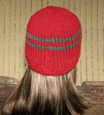 Load image into Gallery viewer, Striped-Knitted-Beanie-Hat-Nchanted-Gifts