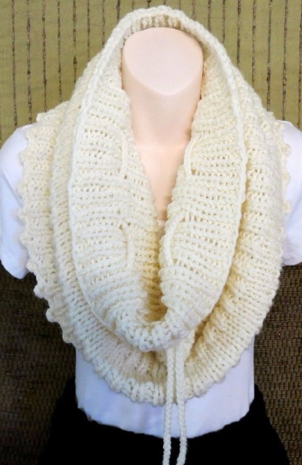 Knit-Infinity-Scarf-Cowl-Nchanted-Gifts