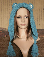 Load image into Gallery viewer, Crochet-Bear-Hood-For-Adults-Nchanted-Gifts