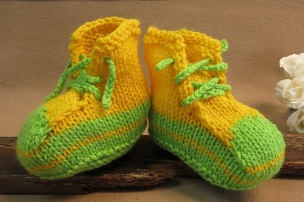 Clarence-Sale-Bright-Baby-Booties-1-2-Years-Nchanted-Gift