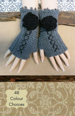 Load image into Gallery viewer, Corset-Fingerless-Wool-Gloves-Nchanted-Gifts