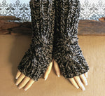 Load image into Gallery viewer, Cabled-Fingerless-Gloves-Nchanted-Gifts