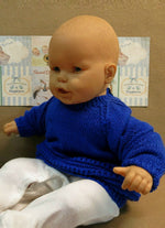Load image into Gallery viewer, Royal-Blue-Baby-Jumper-Nchanted-Gifts