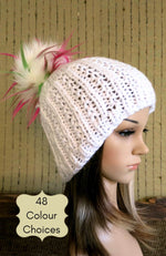 Load image into Gallery viewer, Thick-Winter-Beanie-with-Pom-Pom-Nchanted-Gifts