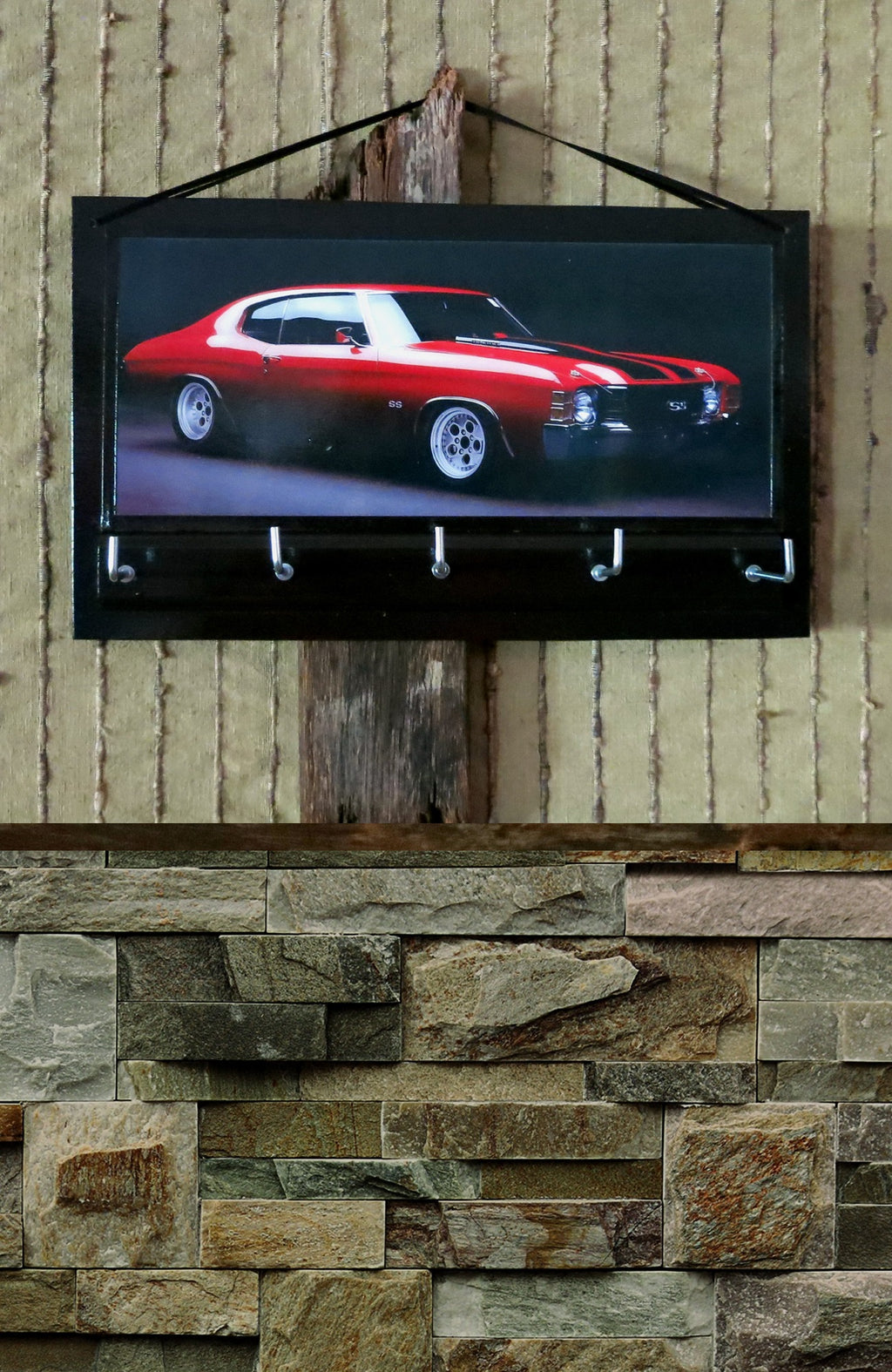 Red-Muscle-Car-Print-Nchanted-Gifts