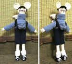 Load image into Gallery viewer, Fabric-Mouse-Cat-or-Rabbit-Ragdoll-Soft-Toy-Doll-Nchanted-Gifts