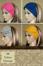 Load image into Gallery viewer, Flower-Hadband-Ear-Warmer-Nchanted-Gifts