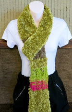 Load image into Gallery viewer, Thick-Green-Woolen-Scarf-Nchanted-Gifts