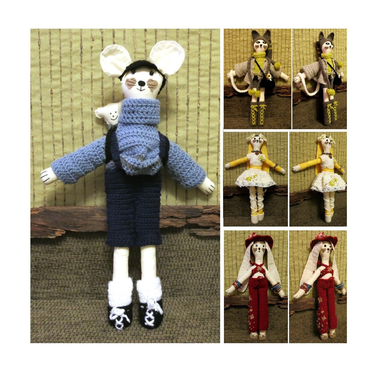 Fabric-Mouse-Cat-or-Rabbit-Ragdoll-Soft-Toy-Doll-Nchanted-Gifts