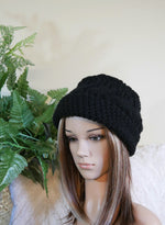 Load image into Gallery viewer, Cable-Knit-Hat-Wool-Beanie-Nchanted-Gifts