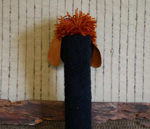 Sock-Hand-Puppet-Black-Dog-Nchanted-Gifts