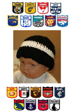 Load image into Gallery viewer, AFL-Childrens-Football-Beanies-Nchanted-Gifts