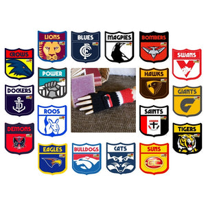 AFL Fingerless Buckle Wrist Warmers