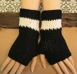 Load image into Gallery viewer, AFL-Fingerless-Gloves-Nchanted-Gifts