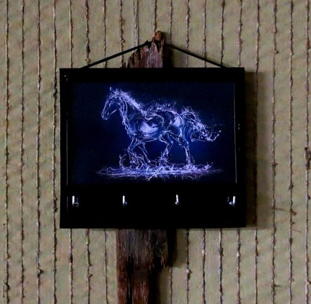 Horse-Print-Key-Rack-Holder-Nchanted-Gifts