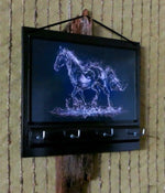Load image into Gallery viewer, Horse-Print-Key-Rack-Holder-Nchanted-Gifts