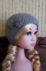 Load image into Gallery viewer, Children's-Flower-Crochet-Hat-Nchanted-Gifts
