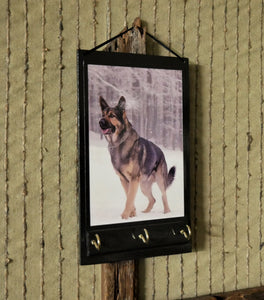 German-Shepard-Print-Key-Rack-Holder-Nchanted-Gifts