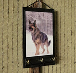 Load image into Gallery viewer, German-Shepard-Print-Key-Rack-Holder-Nchanted-Gifts
