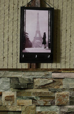 Load image into Gallery viewer, Key-Rack-Holder-with-Paris-Print-Nchanted-Gifts