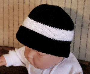 Knitted-Baby-AFL-Beanie-Nchanted-Gifts