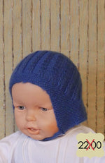 Load image into Gallery viewer, Blue-Baby-Bonnet-Nchanted-Gifts