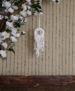 Load image into Gallery viewer, Mini-Macrame-Dreamcatcher-Nchanted-Gifts