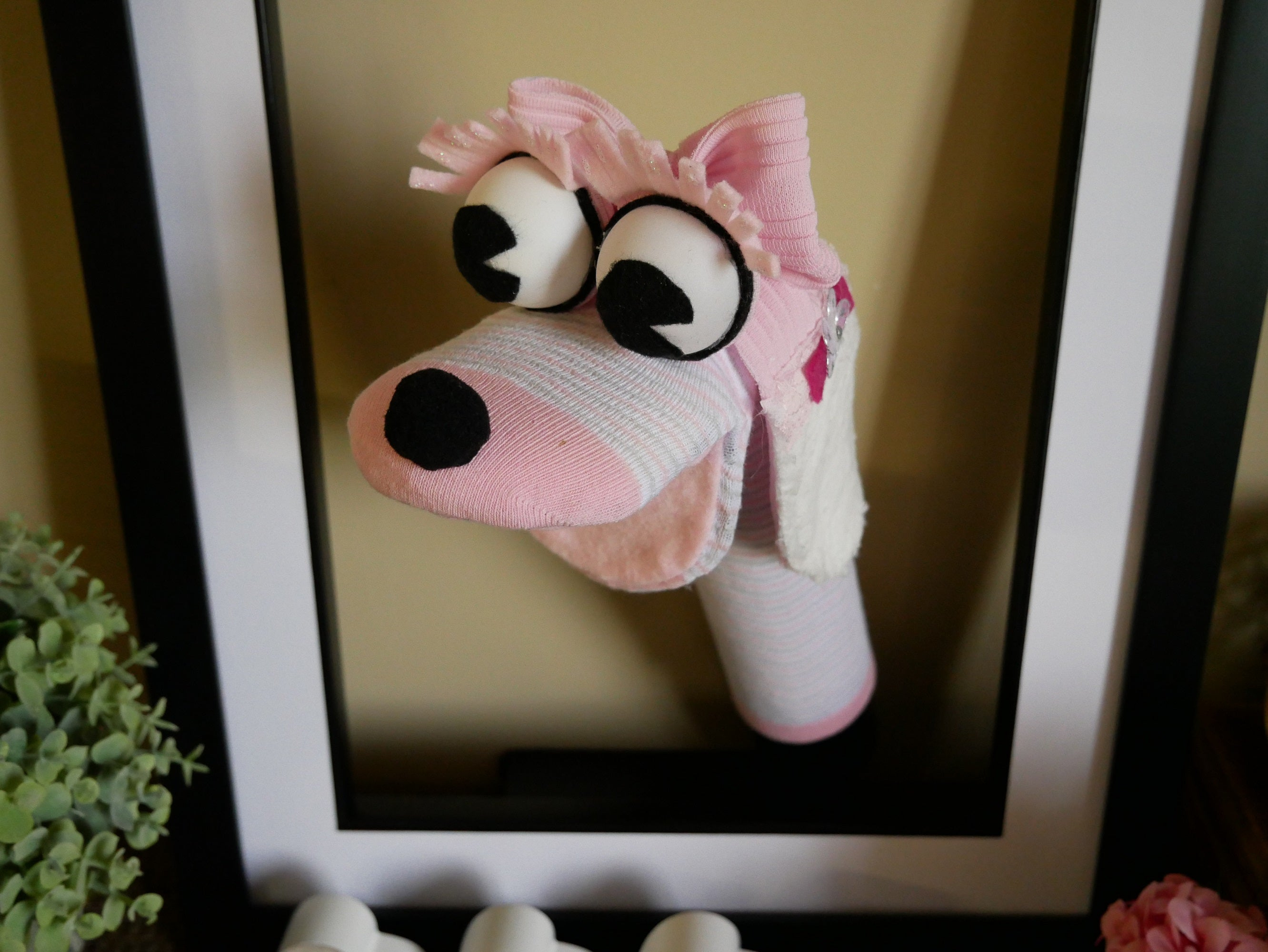 Dog-Sock-Hand-Puppet-Nchanted-Gifts