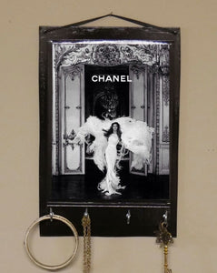 Chanel-Print-Key-Holder-Nchanted-Gifts